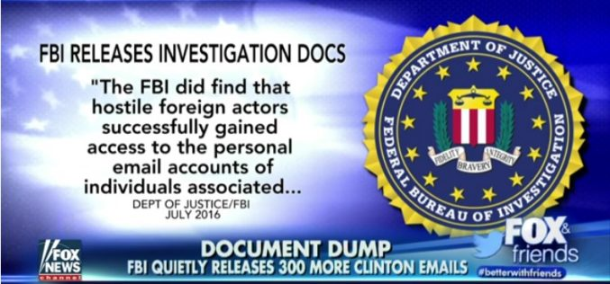 FBI: Hostile Actors Gained Access To Hillary Clinton's Private Emails