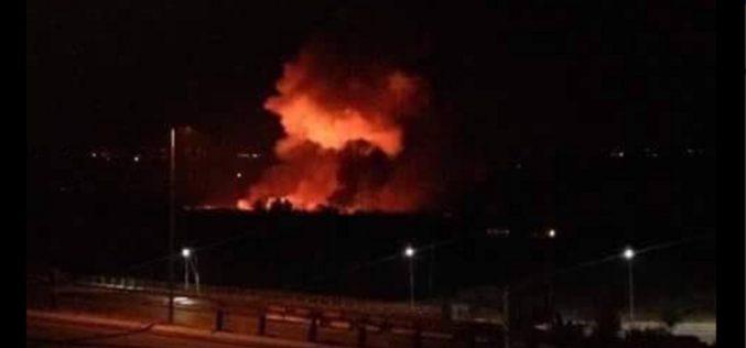 Israel bombs Syria – Airport in capitol Damascus engulfed in flames