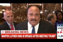 "Media Outraged – MLK III Meets With Trump – ""It's Insanity We Have Poor People In This Nation!"""