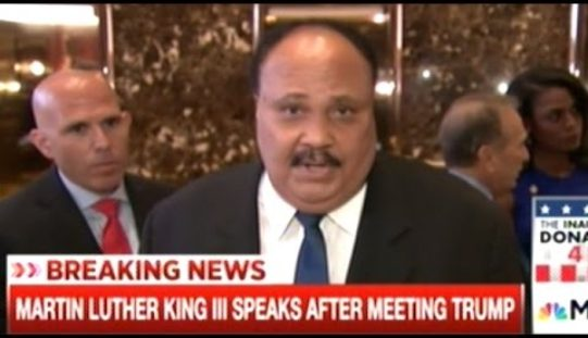 """Media Outraged – MLK III Meets With Trump – """"It's Insanity We Have Poor People In This Nation!"""""""