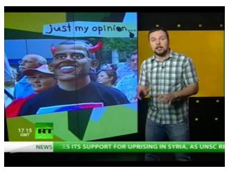 Messaging on RT prior to the US presidential election (RT, 3 November)