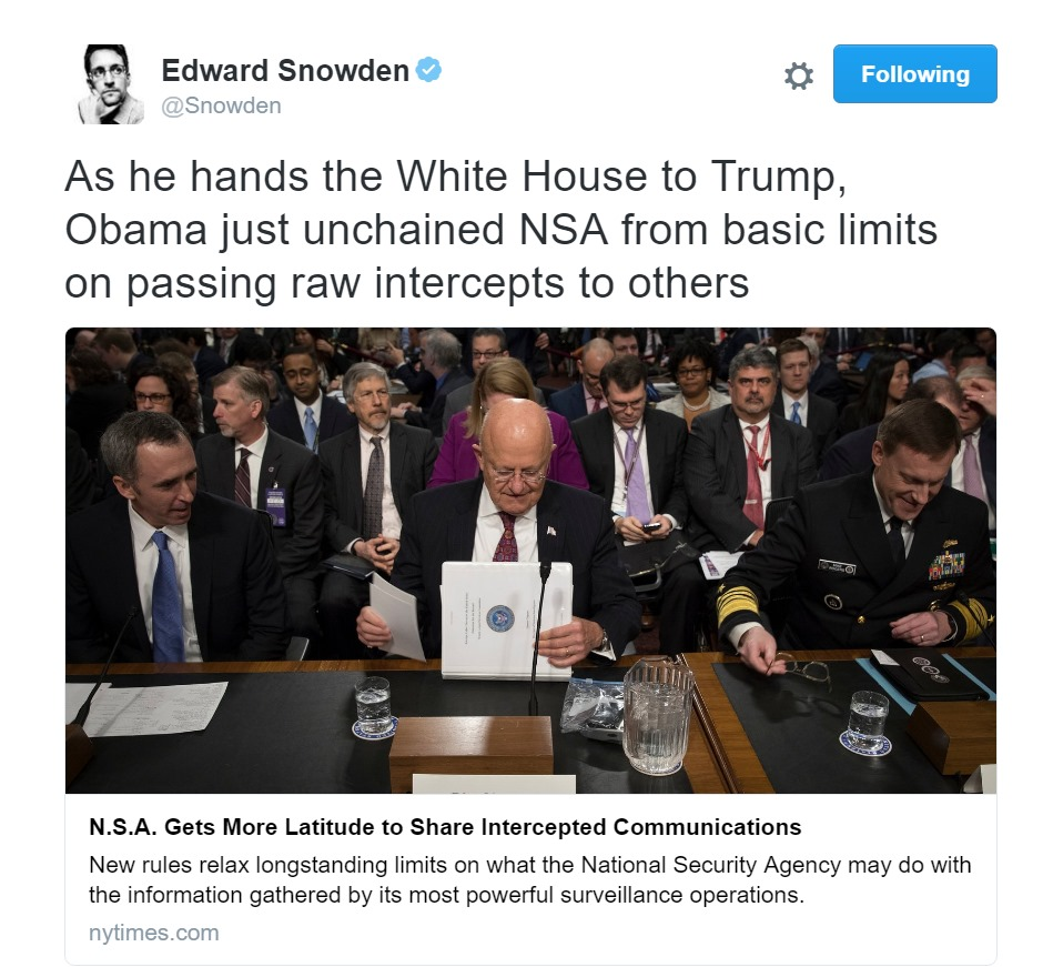 NSA 'Unchained' Obama Grants Unprecedented Spy Powers