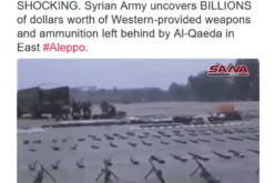 Al Qaeda Leaves BILLIONS of Dollars of Western Supplied Weapons in Aleppo Syria