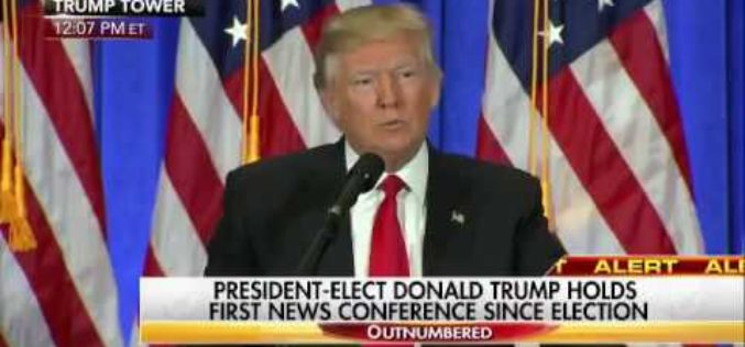 """You are FAKE NEWS"" – Trump Blasts CNN Reporter At First Press Conference Since Election"