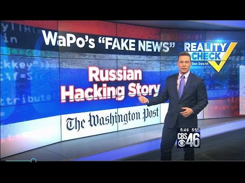 Why WaPo's Russia Hacking U.S. Power Grid Story is Epitome of 'Fake News'